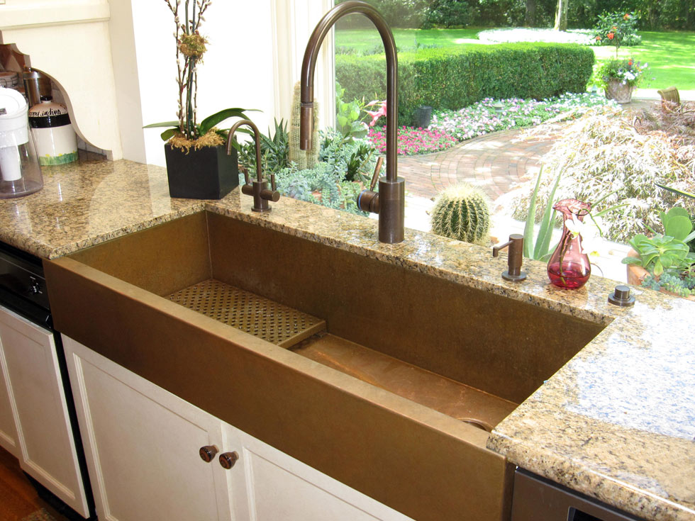 Farmhouse Sink Without Apron : Replacing countertop and want a retrofit farmhouse apron front sink